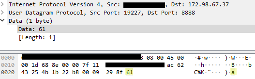 Mysterious outbound UDP traffic on port 8888    Help! - Linux Included